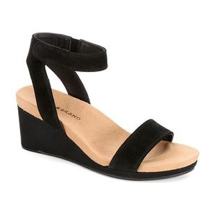 Lucky Brand Kanoa Black Wedges